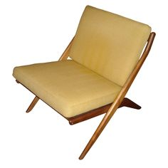 dux sweeden scissor chair by folke ohlsson