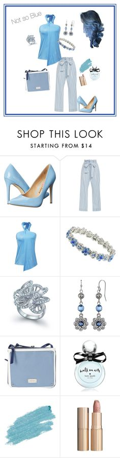 """""""Bloomingly Blue"""" by constance-dangerfield on Polyvore featuring Penny Loves Kenny, Frame Denim, 1928, Bling Jewelry, Nine West, Kate Spade, Jane Iredale and Charlotte Tilbury"""