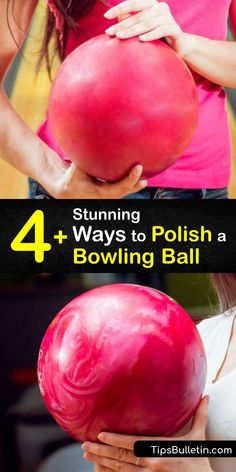 Learn how to clean and polish the coverstock of your bowling ball for the best bowling action. Clean it with a microfiber towel after each game, deep clean the ball by taping the finger holes and doing a hot water soak, and resurface it by sanding with an Abralon pad. #howto #polish #bowling #ball House Cleaning Tips, Deep Cleaning, Spring Cleaning, Cleaning Hacks, Laundry Hacks, Bowling Ball, Clean Microfiber, Cleaners Homemade, Rubbing Alcohol