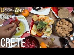 (Part 6 of The people living on the Greek island of Crete love their wine and eat a rich variety of foods drawn from their groves, farms, and the. Irish Recipes, Greek Recipes, New Recipes, Dinner Recipes, Carb Cycling Diet, Japanese Diet, Irish Breakfast, Mindful Eating, Crete