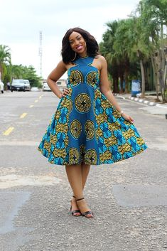 The most beautiful collection of Trendy Ankara Short Gown Styles, these ankara short gown styles have been trending for a long while you have to see them African Print Dresses, African Dresses For Women, African Wear, African Attire, African Fashion Dresses, African Women, Ghanaian Fashion, African Prints, African Style