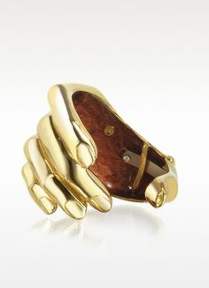 bernard delettrez hand bronze cuff bracelet-kinda creepy but I LOVE it ! Bracelets Design, Bangle Bracelets, Bangles, Hand Bracelet, Jewelry Accessories, Fashion Accessories, Jewelry Box, Hand Jewelry, Office Accessories