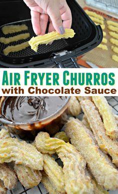 Homemade Cinnamon Sugar Churros Using the Air Fryer – Hip2Save