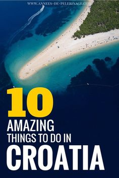 An inspirational list of the best things to do in Croatia. Where to go, what to see and which landmarks you absolutely cannot miss. Beautiful pictures and tons of information for your perfect Croatia itinerary. Croatia Itinerary, Croatia Travel Guide, Europe Travel Guide, Croatia Tours, Istria Croatia, Travel Abroad, Budget Travel, Dubrovnik, Destinations