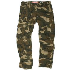 SUPERDRY cargo pants in Army Camo. MB7BF007F3, Free Shipping at CelebrityModa.com