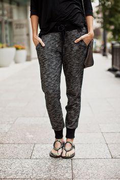 Comfy, cute jogger pants.