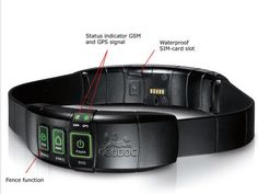 "This dog collar has a built-in GPS receiver and ""mobile phone"".can lead you right to your dog."