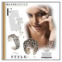 """""""blingsense"""" by lila2510 ❤ liked on Polyvore featuring beauty"""
