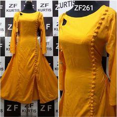Churidhar design Salwar Designs, Kurta Designs Women, Kurti Designs Party Wear, Saree Blouse Designs, Sleeves Designs For Dresses, Dress Neck Designs, Churidhar Designs, Salwar Pattern, Kurti Embroidery Design
