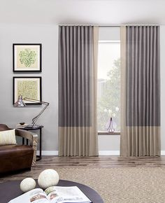 Ripple Fold Drapery & Curtains | Modern Drapes | The Shade Store