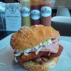 One of Chicago's top 3 sandwiches - The Atomica from Cemitas Puebla by evanwinesavvy