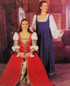 Amazon.com: McCall's 2806 or 241 Misses Renaissance Costume Pattern Size 12 to 16: Arts, Crafts & Sewing