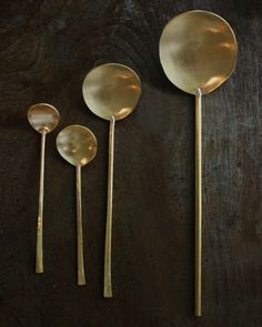 japanese Brass Spoon
