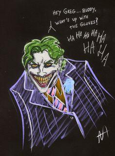 Joker art for Greg Capullo