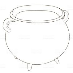 With steam cauldron coloring page .Black and white lines. Scooby Snacks, Black And White Lines, Boiler, Coloring Pages, Troll, Jars, Scrappy Quilts, Display Cases, Magazine Articles