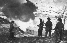 La resistenza in Norvegia. Seconda guerra mondiale.