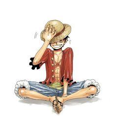 Luffy e seus sorrisos <3