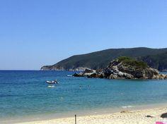Halkidiki Greece, Greek, Sky, Beach, Water, Places, Summer, Outdoor, Heaven