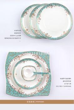 98 pieces  high grade bone china tableware