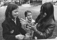 Inspiration: Life at the School Bus Stop, 1971 | Sea Fantasy #photography #photo #school