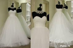 Tulle princess style ballgown <3 #princess #weddingdress info@Chiqwawa.co.za South Africa, Pretoria