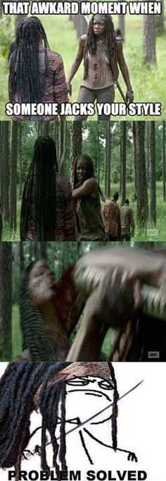 The Walking Dead S4 funny memes