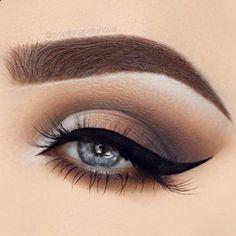Eye Makeup - Natural Smokey Eye Makeup Ide - Ten (10) Different Ways of Eye Makeup
