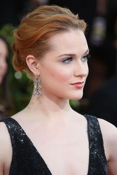 Evan Rachel Wood Hollywood Actresss and Singer Won the Golden Globe and Emmy Awards Beautiful Elegance fabolous Hairstyles Evan Rachel Wood Westworld, Rachel Evans, Photo On Wood, Beautiful Redhead, Celebrity Hairstyles, Woman Crush, Beautiful Actresses, Pretty People, Updos