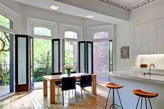 Indoor /outdoor kitchen