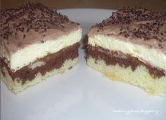 Tvarohové rezy Czech Recipes, Russian Recipes, Ethnic Recipes, Eat Dessert First, Graham Crackers, No Bake Cake, Amazing Cakes, Nutella, Sweet Recipes