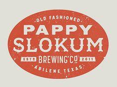 Dribbble - Pappy Slokum Logo by Ryan Feerer
