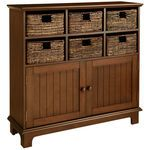 Holtom Storage Cabinet - Chestnut Brown- pier one Farmhouse Cabinets, Wooden Cabinets, Storage Cabinets, Storage Shelves, Filing Cabinets, Media Storage, Storage Baskets, Kitchen Storage, Entryway Furniture