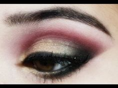 Maroon And Gold Eye Makeup Traditional Indian Pakistani Bridal Makeup Tutorial Pink Gold And Maroon And Gold Eye Makeup Health Beauty Eye Makeup. Maroon And Gold Eye Makeup 45 Fresh Spring Face Makeup Looks For Pretty Lasses. Maroon And Gold E. Pakistani Bridal Makeup, Gold Eye Makeup, Simple Eye Makeup, Bridal Hair And Makeup, Wedding Makeup, Indian Skin Makeup, Punk Makeup, Indian Eyes, Makeup Tutorials Youtube