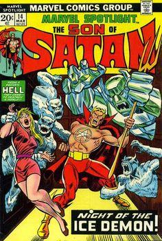 Marvel Spotlight #14. The Son of Satan v Ikthalon.
