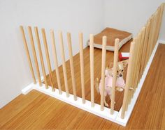 modern, simple dog pen.