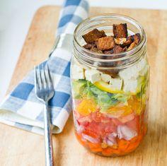 Cobb Salad. Caesar Salad. In a Jar. +Results!
