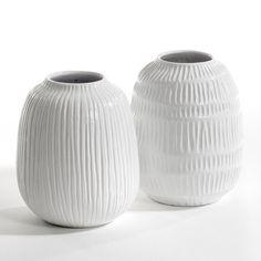 Other Image Vase, Belzemine rayures verticales, design E. Gallina AM.PM.