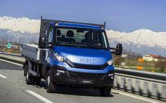 Herunterladen hintergrundbild iveco new daily, 2017, euro 6, lkws, nutzfahrzeuge, italienisch trucks, iveco