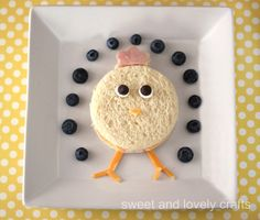 Meal planning sweet and lovely crafts: fun Easter sandwiches Treat yourself and your windows. Egg Recipes For Kids, Easter Recipes, Holiday Recipes, Easter Projects, Easter Crafts, Easter Ideas, Easter Lunch, Easter Food, Easter Cake