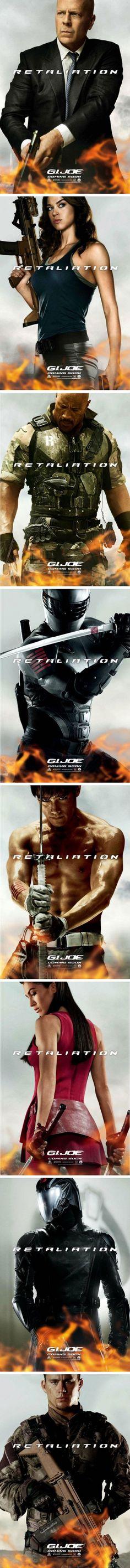 Posters [G.I. Joe: Retaliation]