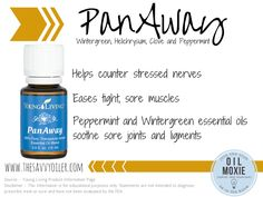 PanAway essential oil   The Savvy Oiler    For more information or to order, click here---->  http://www.thesavvyoiler.com/order-oils/