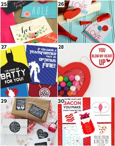 Cute Printable Valentine's Gift Ideas