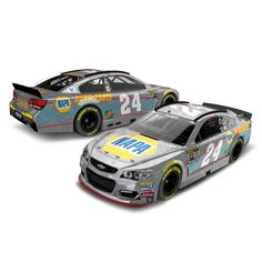 Chase Elliott Action Racing 2016 #24 NAPA 1:24 NASCAR Sprint Cup Series Raw Die-Cast Chevrolet SS