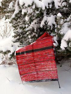 återbruk vävning trasmattor textil