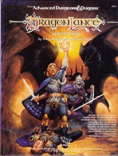 Dragonlance Adventures (Advanced Dungeons and Dragons) by Tracy Hickman
