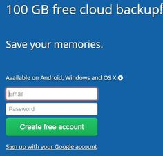 Get 100 GB Deego Free Secure Backup Encrypt all your files using military grade encryption and store multiple copies of each file. It doesn't get more secure than that! Your files are always ready to be recovered at anytime, from anywhere.