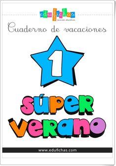 """Recursos Educativos de Educación Infantil: """"Superverano 1"""" (Cuaderno de Vacaciones de Infanti..."""