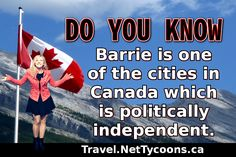 10 Shocking and Unknown facts About Barrie, Ontario - Travel Canada Ontario Travel, Canada Travel, Cool Places To Visit, Did You Know, The Good Place, Politics, Facts, City, City Drawing