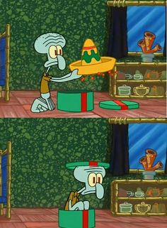 ...Why haven't I worn this yet? Hey is anyone else wondering how the sombrero fits in that box?