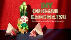 DIY: Origami Kadomatsu, Japanese New Year Decoration